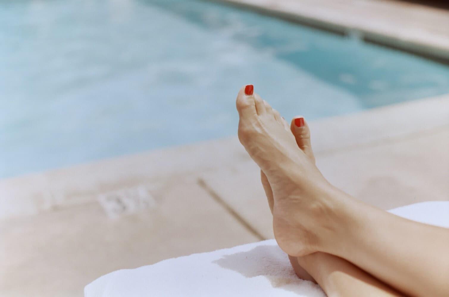 La santé des ongles de pieds