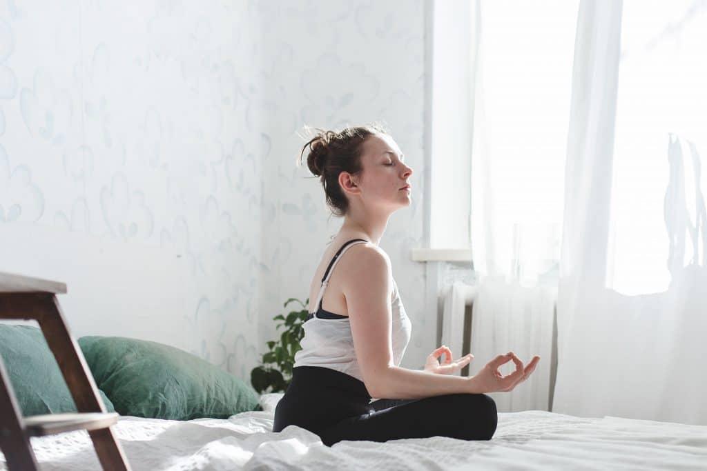 La méditation et la respiration profonde