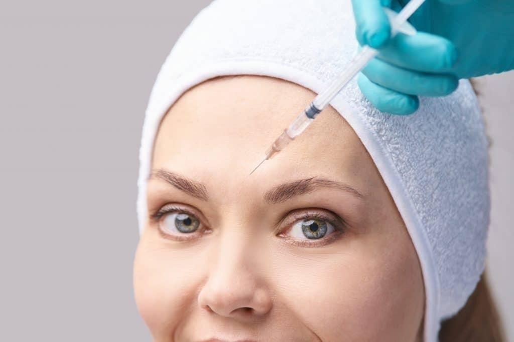 Les zones traitées pour les injections d'acide hyaluronique ?