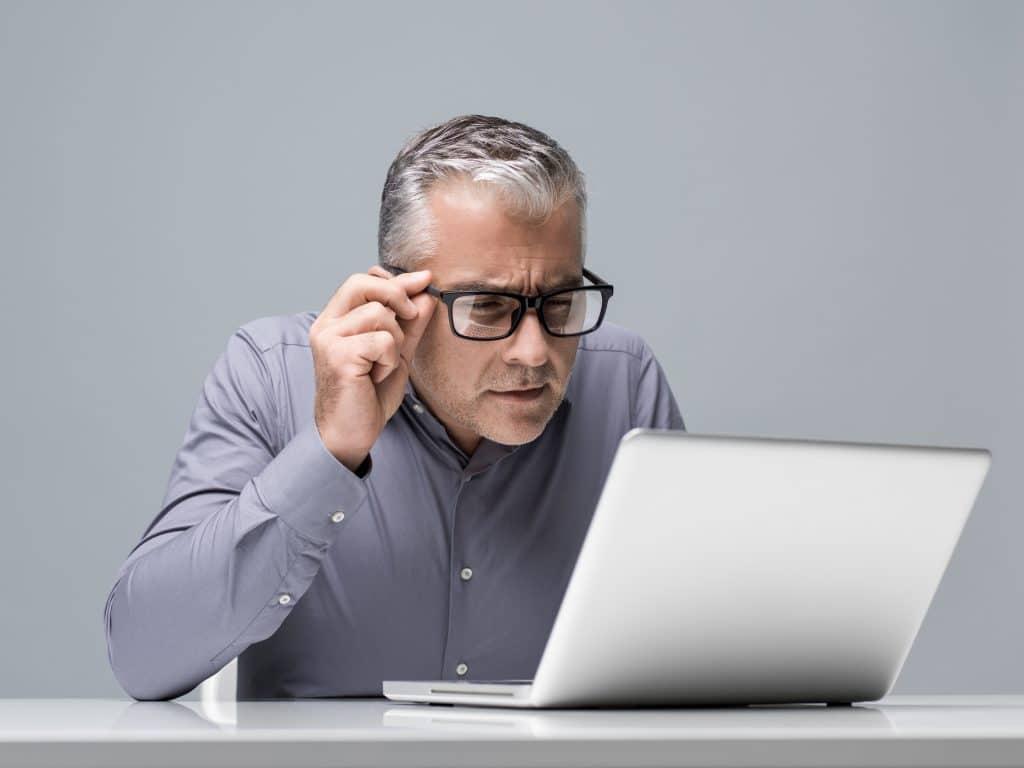 Un trouble de vision : qu'est-ce que c'est ?